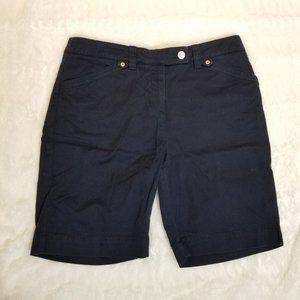 ⭐3 for $15 Jones New York Sport navy shorts 10P